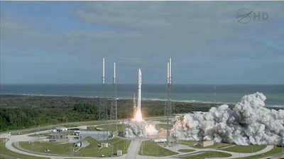Video of the Atlas V Lifting Off with MSL