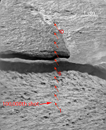 Ithaca rock, target for 100,000th Laser Shot by Curiosity on Mars