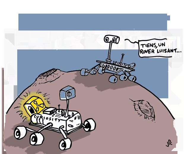 rover luisant
